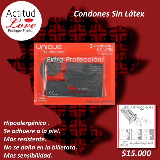 condones sin látex, mas sesibilidad, tienda erotica cucuta, sexshop cucuta, tienda erotica colombia, sexshop colombia,